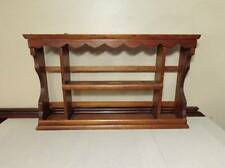 VINTAGE WOOD Shelf Rack Stand or Hang