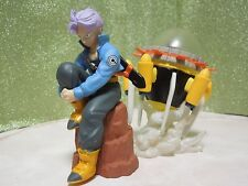 Dragon Ball Z Imagination Figure Trunks with Spaceship Rare