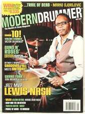 MODERN DRUMMER MAGAZINE LEWIS NASH GUNS N ROSES SHADOWS FALL ANTHRAX WILCO