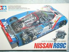 Tamiya 1/24 Nissan R89C Model Race Car Kit #24093