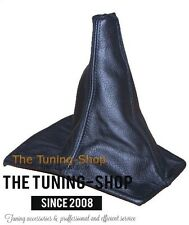 For Toyota Celica 1990-93 Shift Boot Black Genuine Leather