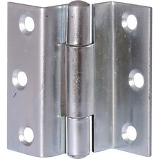 PAIR OF ZINC STORM PROOF HINGES FOR WINDOW SHUTTERS HEAVY DUTY 63mm