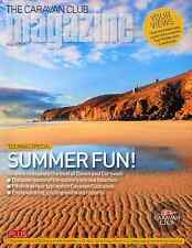 CARAVAN CLUB MAGAZINE AUGUST 2015 . DEVON & CORNWALL . UK BEST BEACHES