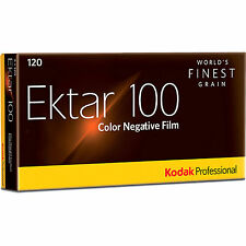 5 Rolls Kodak Ektar 100 120 Pro Color Negative Film Exp. 8/2018