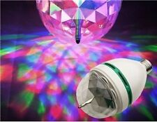 Original Disco Effect Led Bulb Party Light Full Color Rotating Lamp Unique Bulb