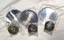 lot 3  44 teeth dish sprocket with mount for 49ccc 80cc engine motor bike chrome