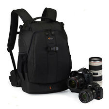 New Lowepro Flipside 400 AW DSLR Camera Bag Backpack & All Rain Cover Black