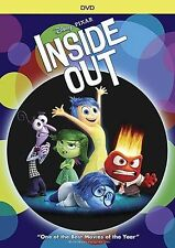 DVD - Inside Out (DVD, 2015) Animated, Kids, Family USA SELLER FAST SHIPPING !