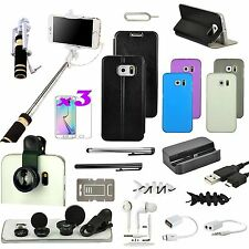 21 in 1 Accessory Case Cover Charger Fish Eye Monopod For Samsung Galaxy Note 5