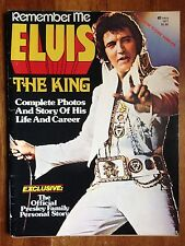 ELVIS The King Remember Me Magazine 1977 Presley Color Photos Life Career!!!