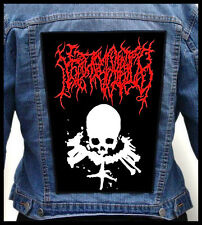 NECROS CHRISTOS - Skull  --- Huge Jacket Back Patch