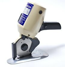 """Round Knife Cloth Cutting Machine (RSD-100) by new-tech 4"""" 110 volt /extra knife"""