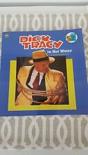 Dick Tracy In Hot Water(1990) Disney Movie Golden Book !!!