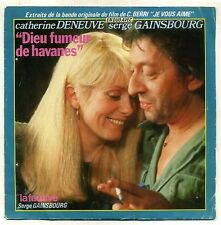"""B.O.F """" JE VOUS AIME """" 45 T SIMPLE PHILIPS 6010291 - SERGE GAINSBOURG"""