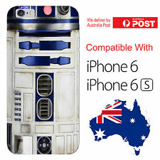iPhone 6 6S Silicone Cover Case Star Wars R2D2 Robot Sidekick C3PO - Coverlads