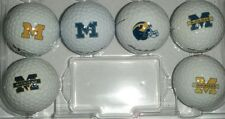 3 Dozen Assorted Michigan Wolverines Logos Nike AAAA / Near MINT Used Golf Balls