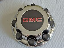 NEW for GMC Chrome Wheel Center Cap Sierra Yukon 2500 8 Lug 8 Bolt Rim Free Ship
