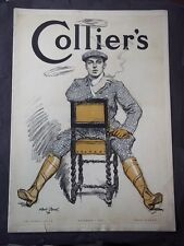 Vintage Colliers Magazine December 1, 1906 - Maxfield Parrish illustration
