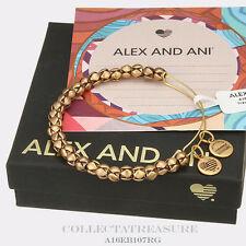 Authentic Alex and Ani Traveler Rafaelian Gold Bangle