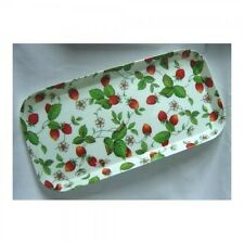 Roy Kirkham Alpine Strawberry Small Melamine Sandwich Serving Tray 30x15cm  New