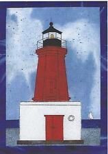 Menominee Lighthouse applique pattern Quilts 'n Stuff