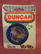 1994 Duncan Blue Butterfly Yo-Yo Classic Toy Sealed