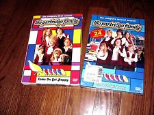 "Lot of [2] of The Partridge Family; Season's 1 is Used  &  ""Season 2 is New"" DVD"