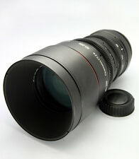 Customized cine lens AF Zoom-Nikkor 80-200mm f/2.8D ED  for EOS DSLR Cameras Pro