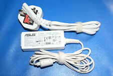 GENUINE ASUS WHITE LAPTOP POWER AC ADAPTOR CHARGER PSU AD6630 19V 2.1A UK STOCK