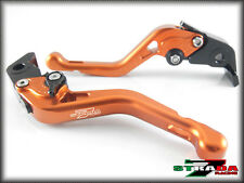 Ducati DIAVEL CARBON 11- 2015 Strada 7 Racing Adjustable CNC Short Levers Orange