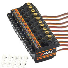 10 x EMAX ES08MA II 12g/ 2.0kg Mini Metal Gear Servo High-speed Upgrade Mg90 S