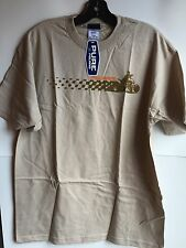 Polaris Short Sleeve Racing T-shirt In Beige (Size L) NWT