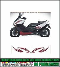 kit adesivi stickers compatibili tmax 2008 2011 exchaust