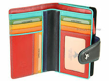 Visconti Multi Colour Womens Luxury Leather Purse Wallet For Cards Coins - SP30