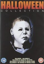 HALLOWEEN Movies Films Complete DVD Collection Boxset: Part 1+2+3+4+5 Series 1-5