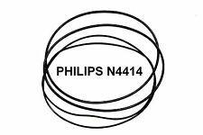 COURROIES SET PHILIPS N4414 MAGNETOPHONE A BANDE EXTRA FORT NEUF FABRIQUE N 4414