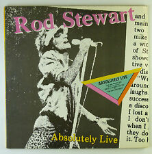 "12"" LP - Rod Stewart - Absolutely Live - k5277 - washed & cleaned"