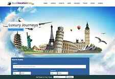 Travel Website Business 100% automated, Full Customization & Make $1 -$4/Click