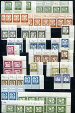 BUND 1960-1975 LAGERBESTAND PLATTENNUMMERN und DRUCKERZEICHEN(U8738d