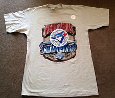 Men's Vintage MLB Toronto Blue Jays 1993 World Series T Shirt Size Large NWT NEW