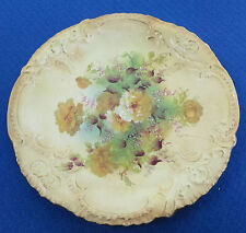 Vintage/Antique Fielding & Co Royal Devon Hand Painted Blush Plate