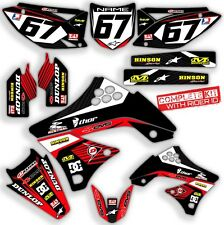 2009 2010 2011 2012 KXF 250 GRAPHICS KIT KAWASAKI KX250F MOTOCROSS BIKE DECALS