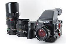 Mamiya 645 Pro TL 80mm f/2.8 N 45mm 2.8 ULD 105-210mm lens SV finder 143785-R325