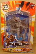 Doctor Dr Who KRILLITANE Alien Monster Figure (Grey) New MOC!