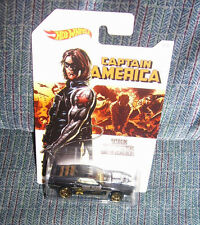 Hot Wheels CAPTAIN AMERICA SERIES RIVETED WINTER SOLIDER 5/8 2016 Walmart MARVEL