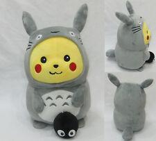 Plüschtier Pikachu kostüm getarnt als ein Totoro 30cm Pokemon plush
