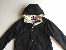 NORTH FACE PURPLE LABEL Mens Black Rain Jacket Size Large fits Medium Japan