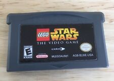 LEGO Star Wars: The Video Game (Nintendo Game Boy Advance, 2005) Tested