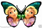 24 x Disney TANGLED Butterflies Edible Decorations Cup Cake Toppers