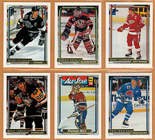 1992-93 , TOPPS , GOLD , COMPLETE SET , 1/529 , RARE